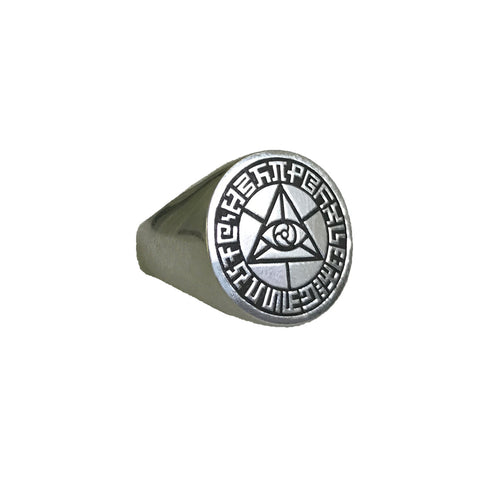 Mystic Eye Signet Ring