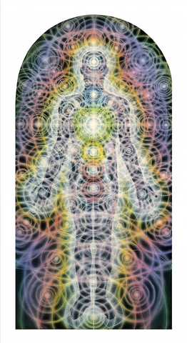 Body/Mind As A Vibratory Field Of Energy - Metallic Print