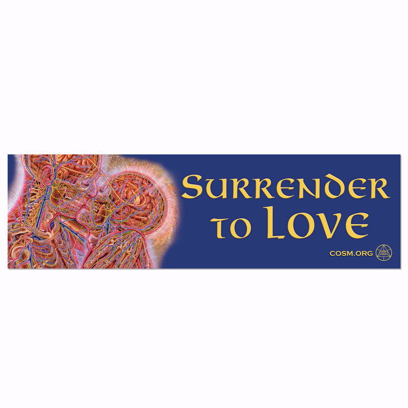 Surrender to Love - Bumper Sticker