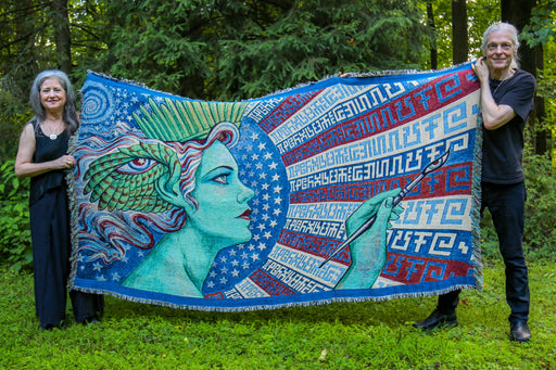 OUT OF STOCK - Creative Liberty - Art Blanket