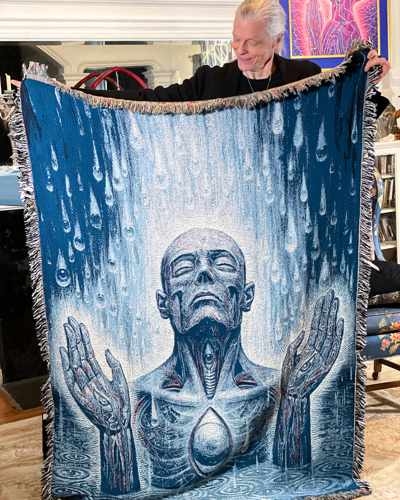 Baptism in the Ocean of Awareness - Limited Release Art Blanket