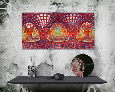 Net of Being - Canvas Print