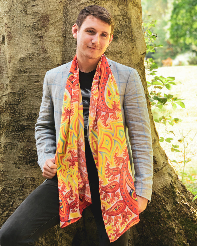 Psychomicrograph Scarf