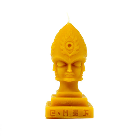 Steeplehead Beeswax Candle