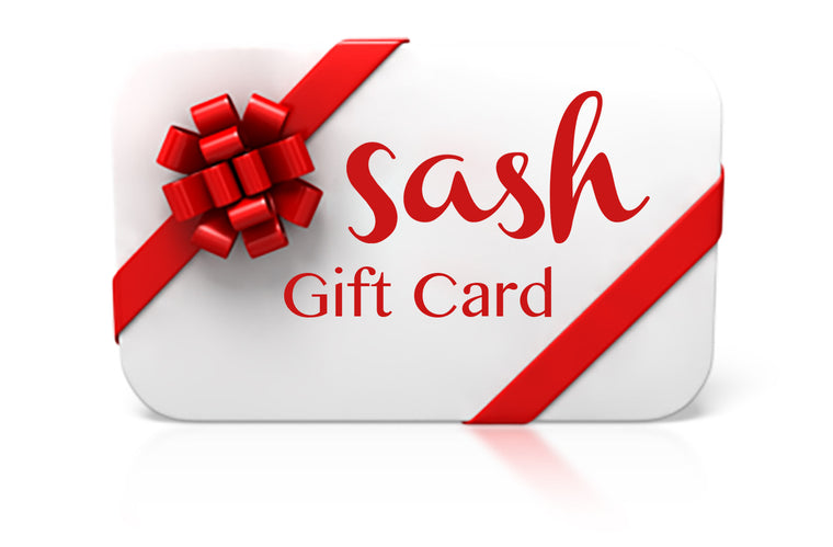 Digital Sash Gift Card