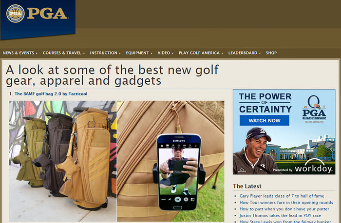 PGA: #1 BEST NEW GEAR. SELFIE GOLF SOLVED!