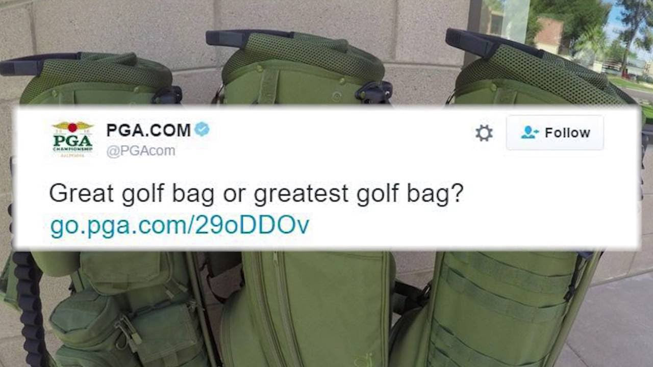 GREAT GOLF BAG OR GREATEST GOLF BAG?!