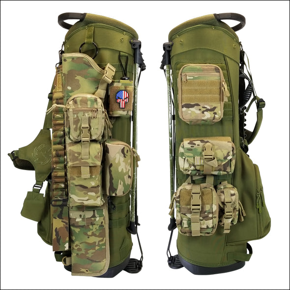 TactiCool - BAMF Golf Bag: Breacher - 2018 - gift - veteran - army - police - military - firefighter - molle - army - marines