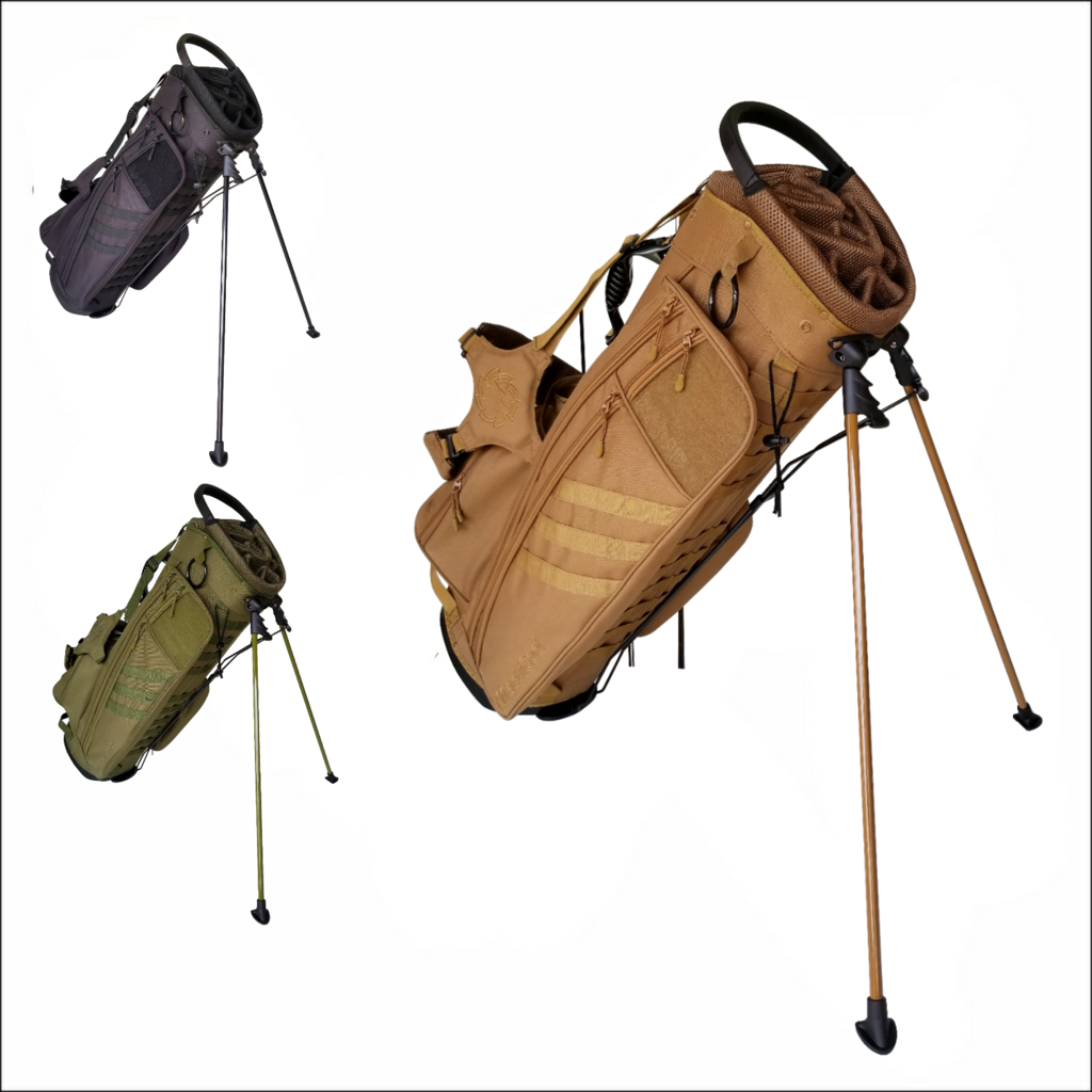TactiCool - Golf Bag - BAMF Golf Bag: Expeditionary - lightweight - stand bag - molle - tactical - police - military