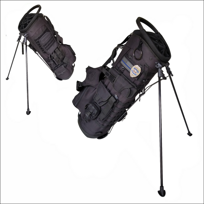 TactiCool - Golf Bag - BAMF Golf Bag: Sheepdog - lightweight - stand bag - molle - tactical - police - military