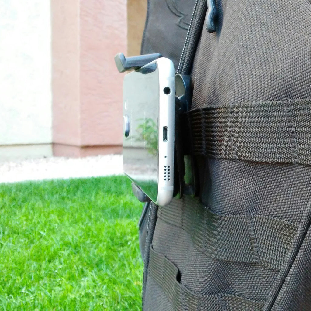 TactiCool - MOLLE Pouch - Smart Phone Mount - lightweight - stand bag - molle - tactical - police - military