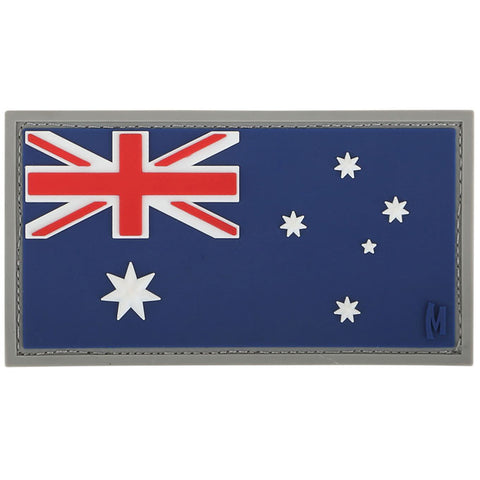 TactiCool - Morale Patch - Australia Flag Patch - lightweight - stand bag - molle - tactical - police - military
