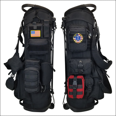 TactiCool - Golf Bag - BAMF Golf Bag: First Responder - 2018 - gift - veteran - emt - army - policeman - military - firefighter - molle - navy - marines