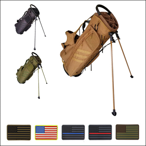 TactiCool - BAMF Golf Bag: 2018 PRE-ORDER - 2018 - tactical - military - police - veteran - molle