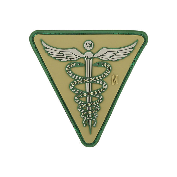 TactiCool - Morale Patch - Caduceus Patch - lightweight - stand bag - molle - tactical - police - military