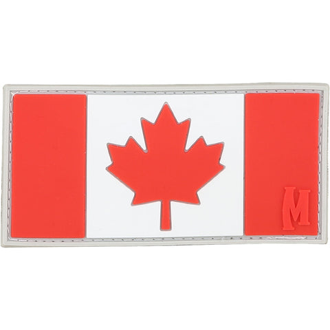 TactiCool - Morale Patch - Canada Flag Patch - lightweight - stand bag - molle - tactical - police - military
