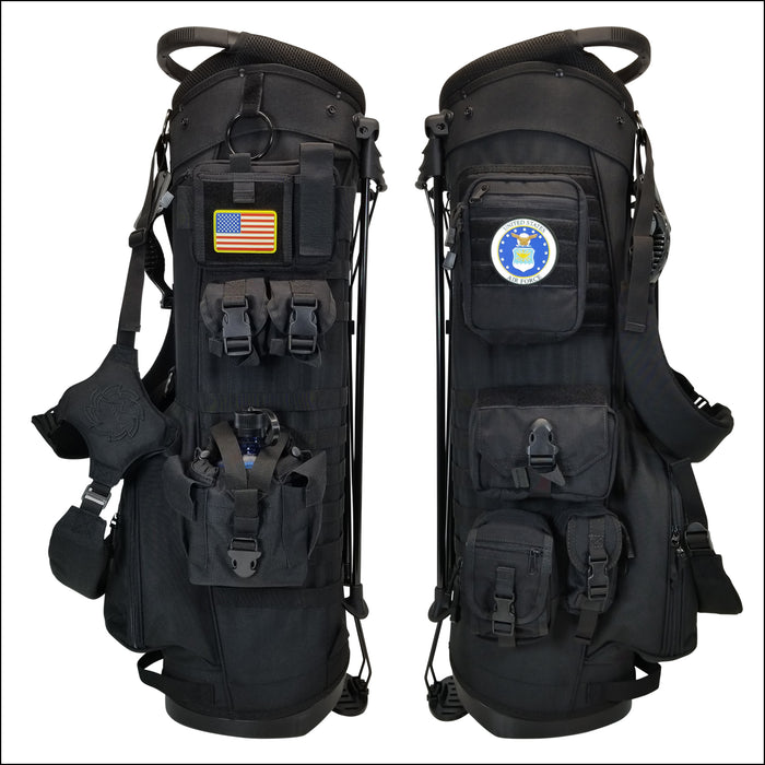 TactiCool - BAMF Golf Bag: DD - 214 - 2018 - tactical - military - police - veteran - molle