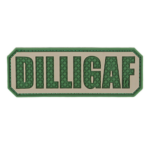 TactiCool - Morale Patch - DILLIGAF Patch - lightweight - stand bag - molle - tactical - police - military