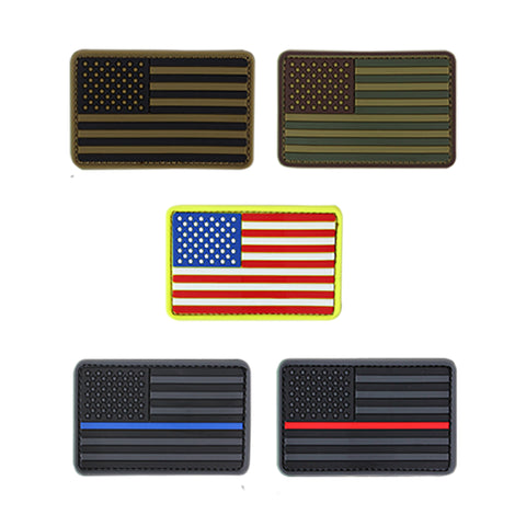 TactiCool - Morale Patch - USA Flag Patch - molle - tactical - police - military