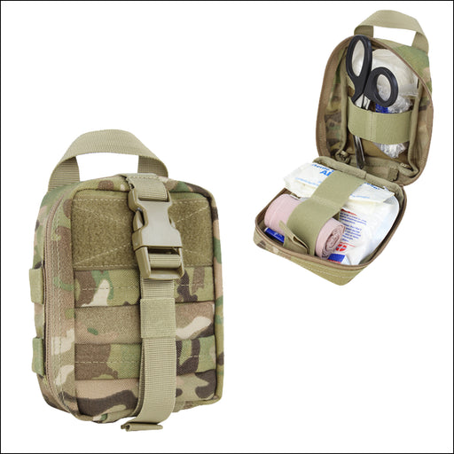 TactiCool - MultiCam Rip-Away EMT Lite MOLLE Pouch - 2018 - tactical - military - police - veteran - molle