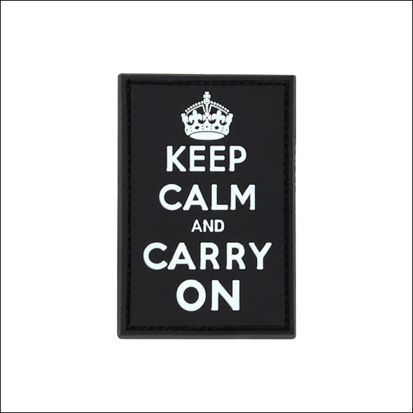 TactiCool - Keep Calm PVC Patch - TactiCool - 2018 - tactical - bamf