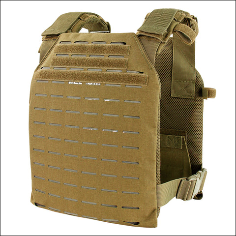 TactiCool - Plate Carrier - Laser Cut MOLLE Plate Carrier - 2018 - gift - veteran - emt - ems - policeman - military - firefighter - molle