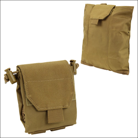 TactiCool - MOLLE Pouch - Mini Fold Up Dump Pouch - 2018 - gift - veteran - emt - army - policeman - military - firefighter - molle - navy - marines