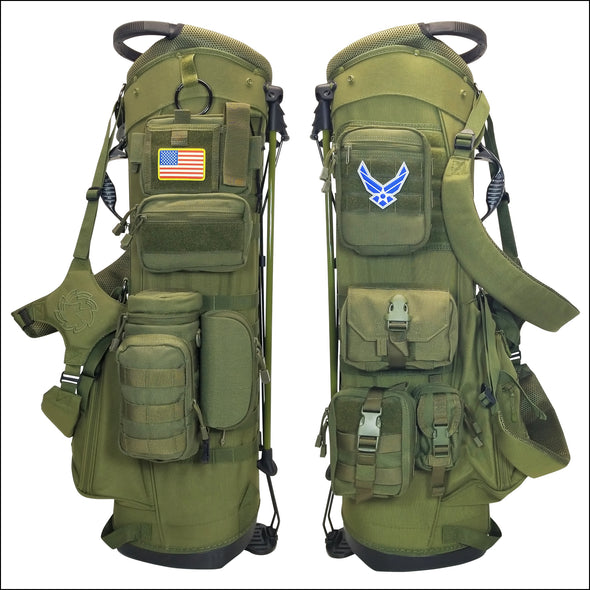 TactiCool - BAMF Golf Bag: Veteran - 2018 - gift - veteran - army - police - military - firefighter - molle - army - marines
