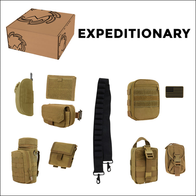 TactiCool - Accessory - Custom Shop Parts Kit - molle - tactical - police - military