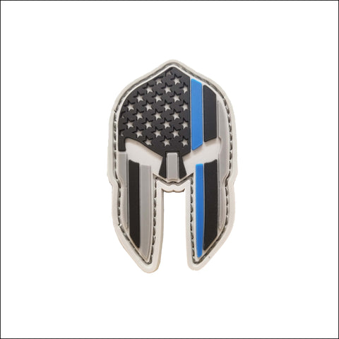 Spartan Thin Blue Line Patch