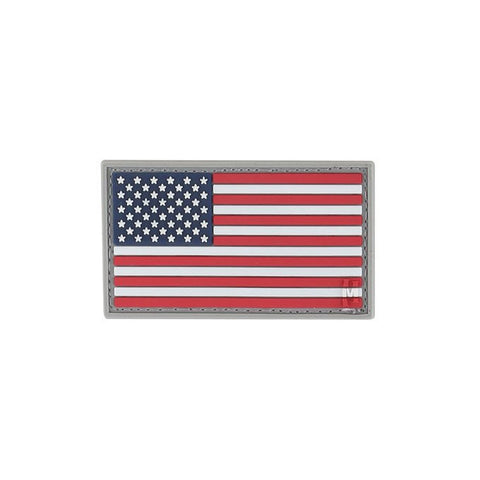 TactiCool - Morale Patch - US Flag Color Patch - lightweight - stand bag - molle - tactical - police - military