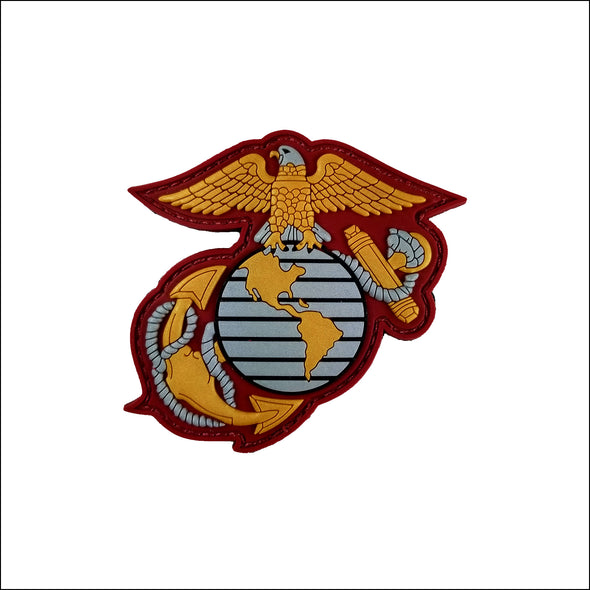 TactiCool - USMC Eagle Globe & Anchor PVC Patch - 2018 - gift - veteran - army - police - military - firefighter - molle - army - marines