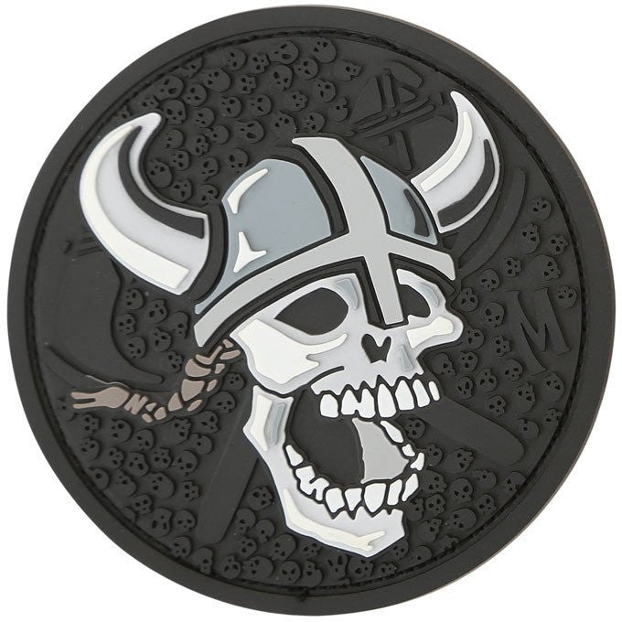 TactiCool - Morale Patch - Viking Skull Patch - lightweight - stand bag - molle - tactical - police - military