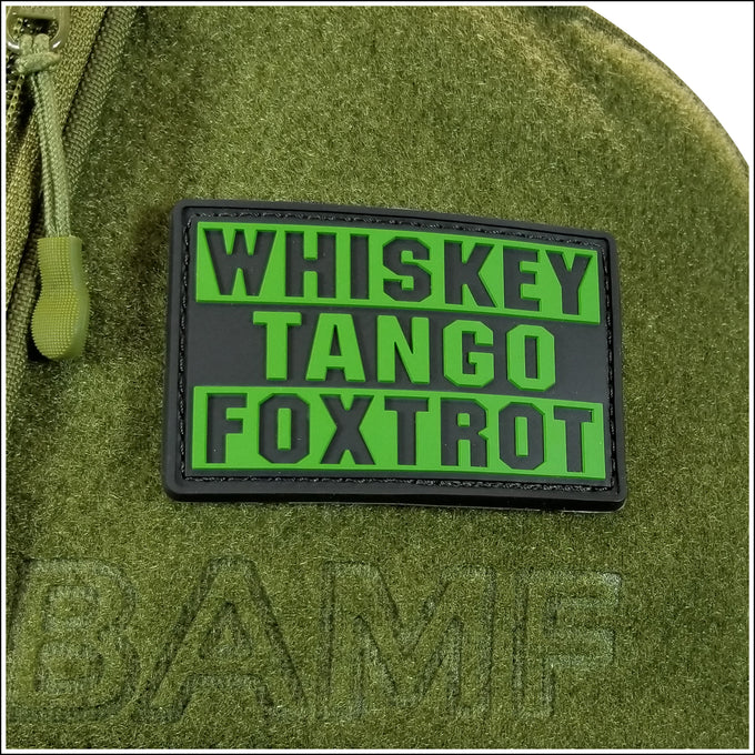 Whiskey Tango Foxtrot Patch
