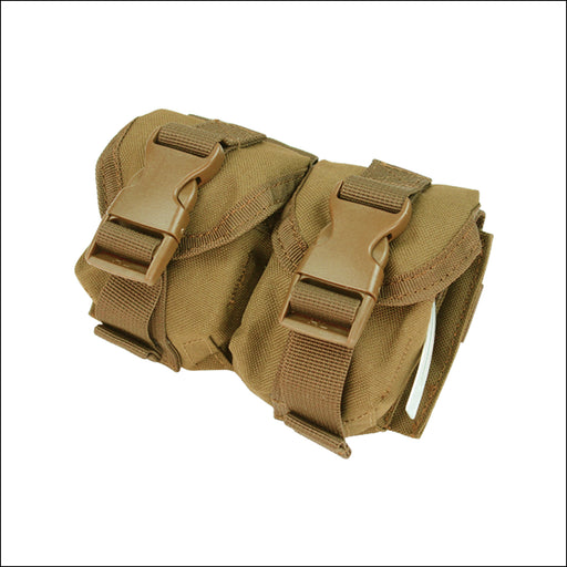 TactiCool - Double Frag Grenade MOLLE Pouch - 2018 - tactical - military - police - veteran - molle
