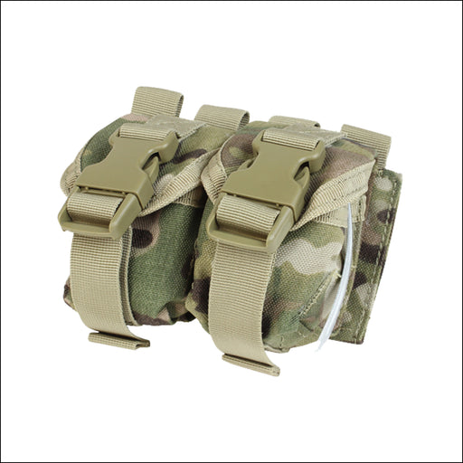 TactiCool - MultiCam Double Frag Grenade MOLLE Pouch - 2018 - tactical - military - police - veteran - gift