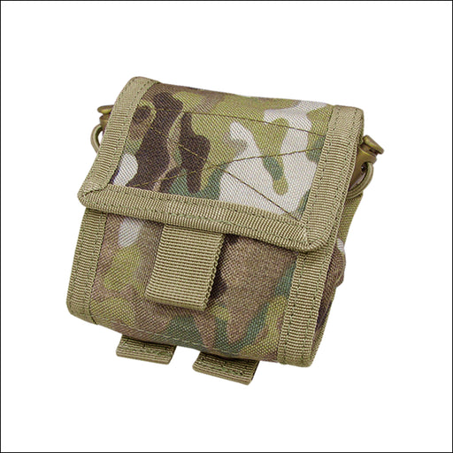 TactiCool - MultiCam Roll-Up Utility MOLLE Pouch - 2018 - tactical - military - police - veteran - molle