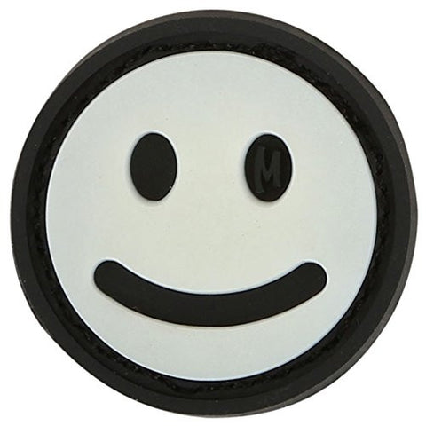 Smiley Face Micro Patch-Tactical-Retirement-Military-Police-Gift-Carry-Stand-Cart-Ping-Titleist-Morale Patch