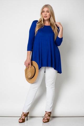 Urban Attitude Plus Size Tunic Top