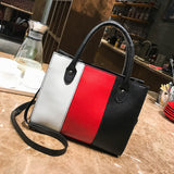 Z & Z  Casual  Crossbody  Leather  Shoulder Bag
