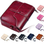 Z & Z Vintage Purse Bag Leather Cross Body Shoulder Messenger Bag