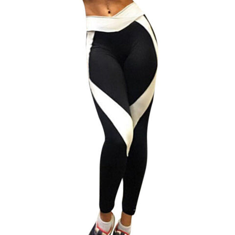 Women Sports Yoga Pants Running Athletic Leggings Quick Dry Yoga Gym pants