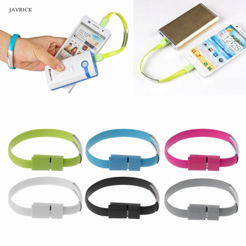A Must Have Portable USB Cable Wire Sync Data Charger Cord Bracelets for Women Men