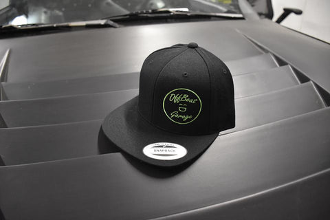 Classic OffBeat Garage Snapback - Black/Green