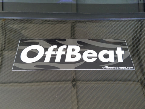 OffBeat Garage Bumper Sticker - Tribal