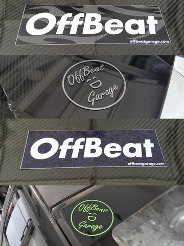 OffBeat Garage Combo Sticker Deal!