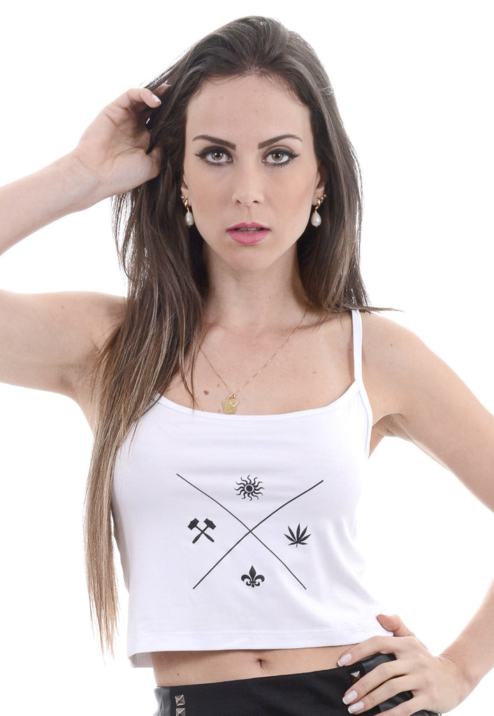 Cropped Rogue Cross Branco
