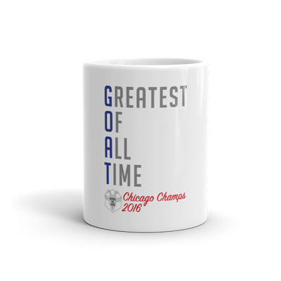 G.O.A.T - Greatest Of All Time™ Chicago Champs 2016 - Mug