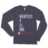 G.O.A.T - Greatest Of All Time™ Chicago Champs 2016 - American Apparel Long sleeve t-shirt (unisex)