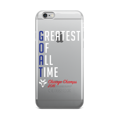 G.O.A.T - Greatest Of All Time™ Chicago Champs 2016 - iPhone case